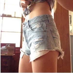AEO Destroyed High-Rise Festival Shortie